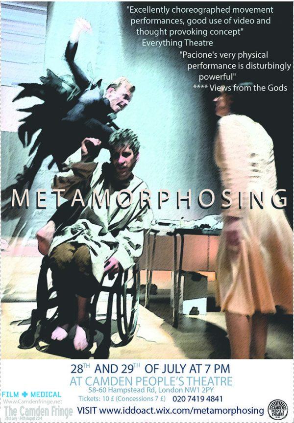 Metamorphosing poster